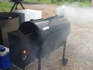 Apply heavy smoke @ 110 degrees for 2 hours